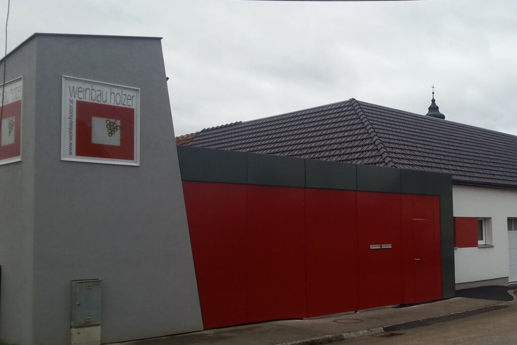 Betriebsstandort von Weinbau Holzer